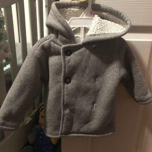 Gray winter coat